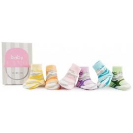 6 chaussettes pour bébé assortis BABY CAMO (0 à 12 mois)