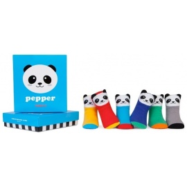 6 chaussettes pour bébé assortis PEPPER (0 à 12 mois)