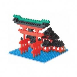 nanoblock monument GRAND TORii d'iTSUKUShiMA (Japon)