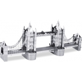 Miniature à monter en métal LONdON TOWER BRidGE (h6cm)