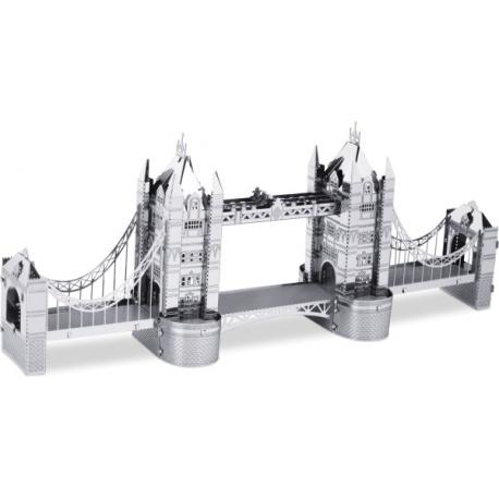 Miniature à monter en métal LONdON TOWER BRidGE (h6cm)
