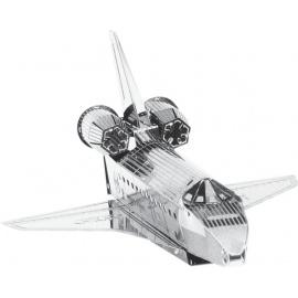 Miniature à monter en métal NAVETTE SPATiALE ATLANTiS (L9.9cm)