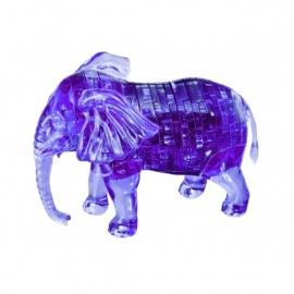 Crystal Puzzle 3D ELEPhANT (40 pièces)