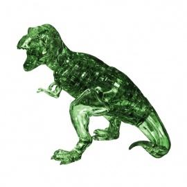Crystal Puzzle 3D T-REX vert (49 pièces)