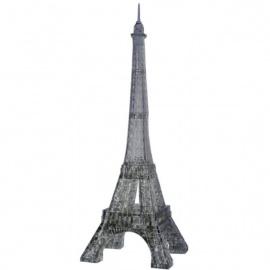 Crystal Puzzle 3D TOUR EiFFEL noir (96 pièces)