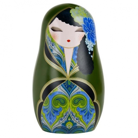 BABUShKA by kimmidoll 10cm (vert et bleu)