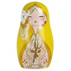 BABUShKA by kimmidoll 10cm (jaune)