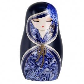 BABUShKA by kimmidoll 10cm (bleu marine)