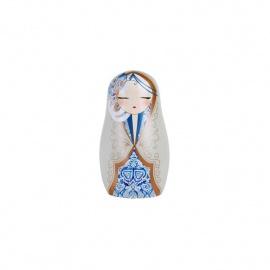 Magnet BABUShKA by kimmidoll 5cm (bleu)