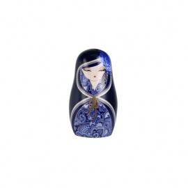 Magnet BABUShKA by kimmidoll 5cm (bleu marine)