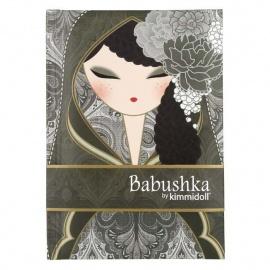 Carnet 12.5*8 BABUShKA by kimmidoll 10cm (noir)