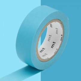 masking tape basic blue (bleu) 15mm*10m