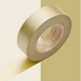 masking tape déco gold (doré) 15mm*10m