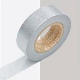 masking tape déco silver (argenté) 15mm*10m