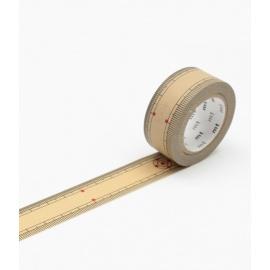 masking tape EX bamboo ruler (règle en bambou) 15mm*10m