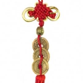 Amulette 3 pièces chinoises (Richesse)