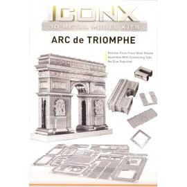 Miniature à monter en métal ARC de TRiOMPhE (h8cm)