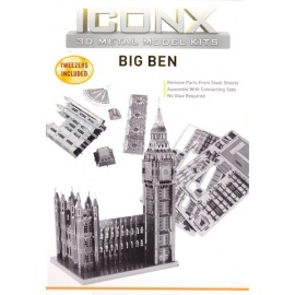 Miniature à monter en métal BiG BEN (h12.7cm)