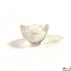 Lingot en cristal de roche (L4xh2.5cm)