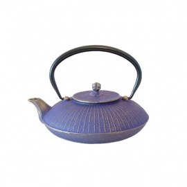 Théière KASA en fonte japonaise (0.70L) violet clair