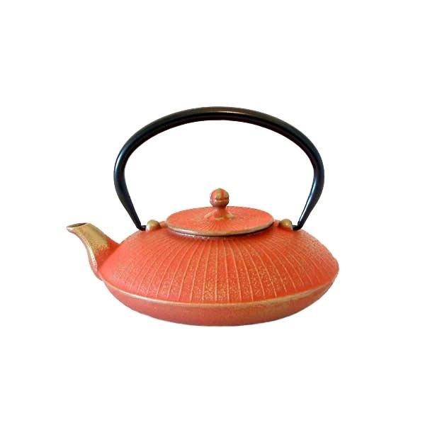 Th i re kasa en fonte japonaise rouge kim thanh - Theiere japonaise en fonte ...