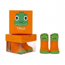 chaussettes pour bébé assortis T-REX (0 à 12 mois)