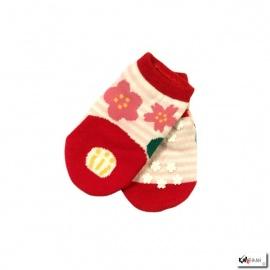 Chaussettes pour bébé UME SAKURA TSUBAKi (extensible 1an à 3ans)