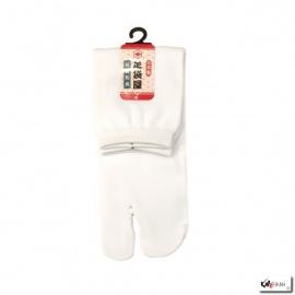 Chaussettes à orteil japonaises UNiES blanches (extensible t34 à t39)