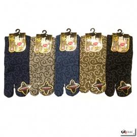 Chaussettes à orteil japonaises KARAKUSA (extensible t34 à t39)