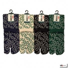 Chaussettes à orteil japonaises KARAKUSA (extensible t39 à t44)
