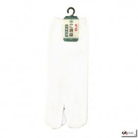 Soquettes à orteil japonaises UNI blanc (extensible t39 à t44)