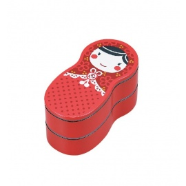 Bento MATRYOSHKA rouge 540ml