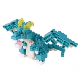 nanoblock mini DRAGON BLEU