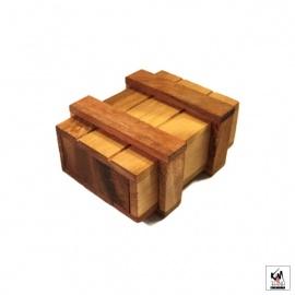 Casse-tête en bois SECRET BOX (9.5cm)