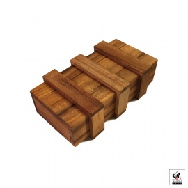 Casse-tête en bois SECRET BOX (L14.5cm)