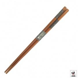 Baguettes japonaises en bambou AiZOME hiShiGATA 21cm