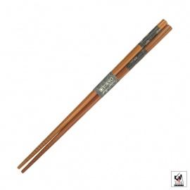 Baguettes japonaises en bambou AiZOME UZUMAKi 21cm