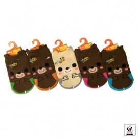 Chaussettes pour bébé OURS ABEiLLES (extensible 3 à 24 mois)