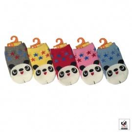 Chaussettes pour bébé PANdA éTOiLES (extensible 3 à 24 mois)