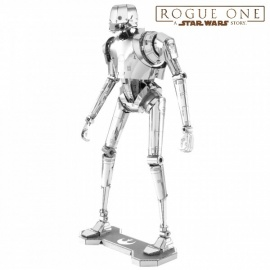 Miniature à monter en métal Star Wars K-2SO (h12.6)