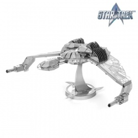 Miniature à monter en métal Star Trek OiSEAU de PROiE (L10.5cm)