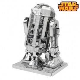 Miniature à monter en métal Star Wars R2-D2 (h7cm)