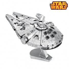 Miniature à monter en métal Star Wars FAUCON MiLLéNiUM (L7cm)