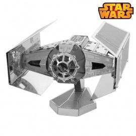 Miniature à monter en métal Star Wars ChASSEUR TiE de DARK VAdOR (L7cm)