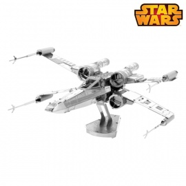 Miniature à monter en métal Star Wars X-WiNG (L10.2cm)