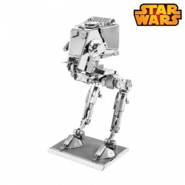 Miniature à monter en métal Star Wars WALKER AT-ST (h8.9cm)