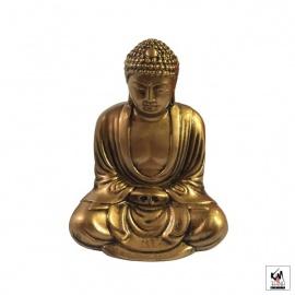Bouddha de KAMAKURA en résine doré (h11cm)