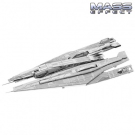Miniature à monter en métal Mass Effect CROiSEUR de l'ALLiANCE (L8.8cm)