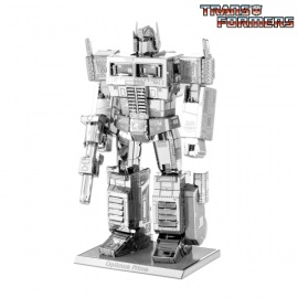 Miniature à monter en métal Transformers OPTiMUS PRiME (h8.8cm)