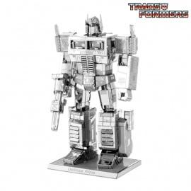 Miniature à monter en métal Transformers® OPTiMUS PRiME (h8.8cm)
